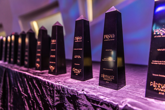 Pinnacle Award Obelisks